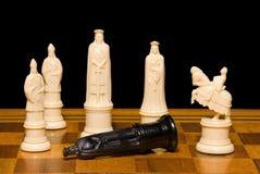 schackset Arkivfoto