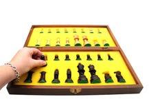 schackset Royaltyfri Fotografi
