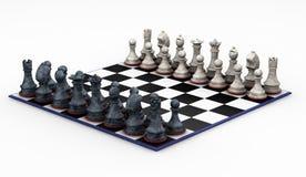 schackset stock illustrationer