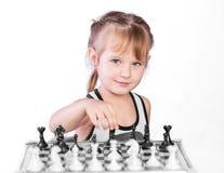 Schackspelare Royaltyfri Fotografi