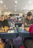 Schackspelare Royaltyfria Foton