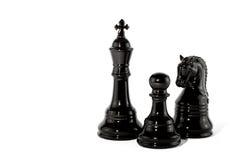 schackstycke Fotografering för Bildbyråer