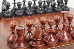 Schackstycken Royaltyfri Bild