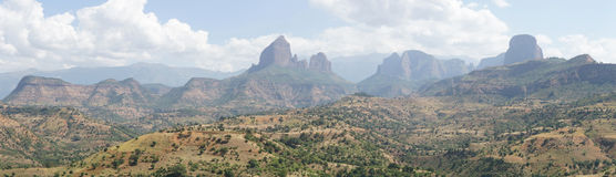 Schackstycken vaggar, Etiopien, Afrika Fotografering för Bildbyråer