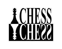 Schacktecken royaltyfri illustrationer