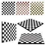 schackvektor vektor illustrationer