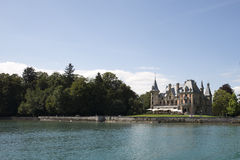 Schadau Castle, Switzerland Stock Image
