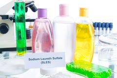Schadelijke Additieven in Schoonheidsmiddelen royalty-vrije stock fotografie