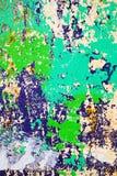 Schaden der gemalten Wand Stockbilder