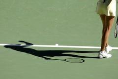 Schaduw 03 van het tennis Stock Foto's