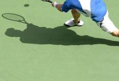 Schaduw 21 van het tennis Royalty-vrije Stock Foto's