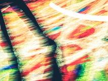 Schaduw onder kleuren Stock Foto's