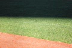 Schaduw in outfield Royalty-vrije Stock Fotografie