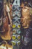 Schaduwen en handtassen Stock Afbeeldingen