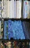 Schaduwen van Blauw Stock Afbeelding