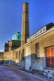Schaduwen van cityscape van de Limerick stock foto's