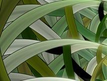 Schaduwen van Gras Vector Illustratie
