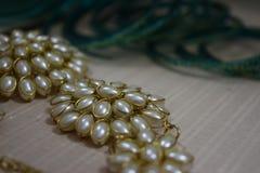 Schaduwen van juwelen Stock Foto's