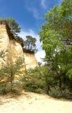 20 schaduwen van Oker in Colorado Provencal Stock Afbeelding