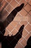 Schaduwen van paar Stock Fotografie