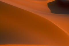 Schaduwen van woestijn Stock Foto's