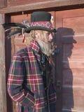 Schaduwrijk karakter Stock Foto's