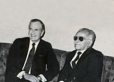Schaduwrijke diplomatie? Royalty-vrije Stock Afbeelding