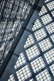 Schaduwtraliewerk op beton Royalty-vrije Stock Afbeelding
