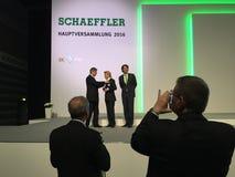 Schaeffler - beheersceos Royalty-vrije Stock Foto's