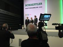 Schaeffler - CEi della gestione Fotografie Stock Libere da Diritti
