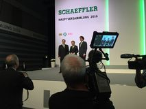 Schaeffler - management ceos Royalty Free Stock Photos