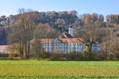 Schaeftlarn Abbey, Bavaria, Germany Royalty Free Stock Photos