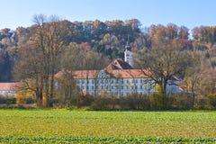 Schaeftlarn abbotskloster, Bayern, Tyskland Royaltyfria Foton