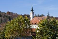 Schaeftlarn abbotskloster, Bayern, Tyskland Royaltyfri Foto