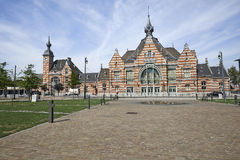 The Schaerbeek railway station Royalty Free Stock Photography