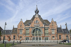 The Schaerbeek railway station Stock Photo