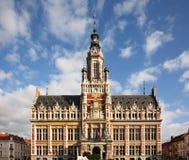 Schaerbeek stadshus i Bryssel _ Arkivfoton