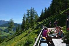 Schaertenalm en las montañas bávaras fotografía de archivo libre de regalías