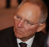 schaeuble Wolfgang obrazy stock