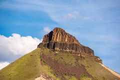 Schaf-Felsen-Spitze stockbild