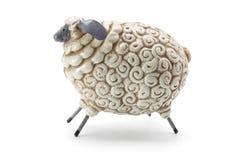 Schaf-Figürchen stockfotografie