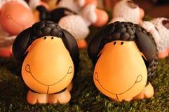 Schaf-Puppe lizenzfreies stockbild