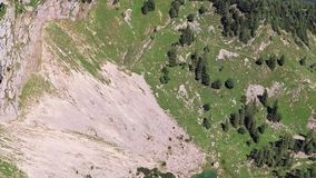 Schafberg山顶,上奥地利天线  股票录像