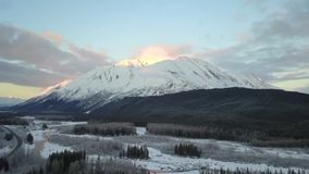 Schafberg in Alaska stock video