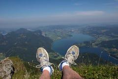Schafberg, Alpes autrichiens Photographie stock libre de droits