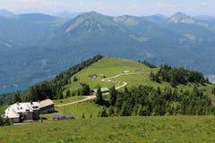 Schafberg, Alpes autrichiens Photographie stock