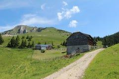 Schafberg, alpi austriache Fotografia Stock