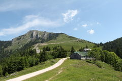 Schafberg, alpi austriache Fotografia Stock Libera da Diritti