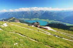 Schafberg, Austrian Alps Royalty Free Stock Photo