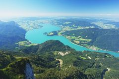 Schafberg, Austrian Alps Royalty Free Stock Photos